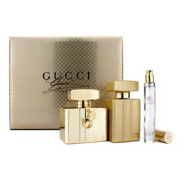 GucciPremiere Coffret: Eau De Parfum Spray 75ml/2.5oz + Body Lotion 100ml/3.3oz + Eau De Parfum Spray 7.4ml/0.25oz 3pcs