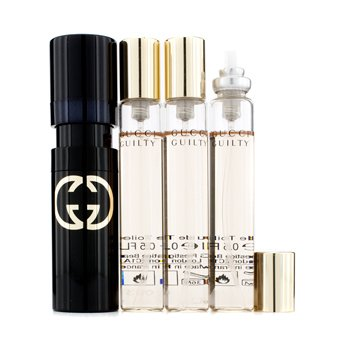 GucciGuilty Eau De Toilette Purse Spray and Refills 4x15ml/0.5oz