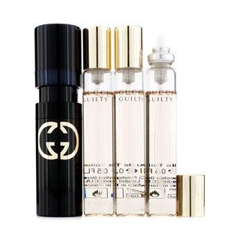 GucciGuilty Eau De Toilette Spray de Cartera y Repuestos 4x15ml/0.5oz