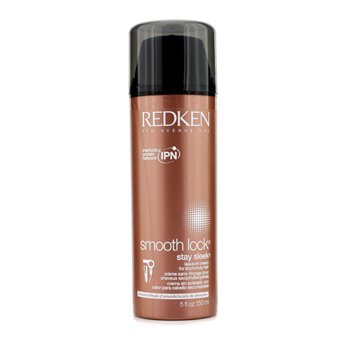 RedkenSmooth Lock Stay Sleek Leave-In Cream (For Dry or Unruly Hair) 150ml/5oz