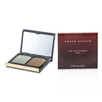 Kevyn Aucoin The Eye Shadow Duo – # 208 Frosted Jade/ Bronzed 4.8g/0.16oz