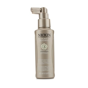 Nioxin System 5 Scalp Treatment SPF15 For Medium/Coarse Hair, Natural Hair, Early Stage of Thinning Hair (Unboxed)  100ml/3.4oz