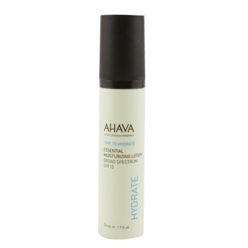 Ahava Time To Hydrate Essential Loci�n Hidratante SPF 15  50ml/1.7oz