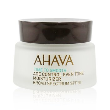 AhavaTime To Smooth Hidratante Unificador de Tono Antiedad SPF 20 50ml/1.7oz