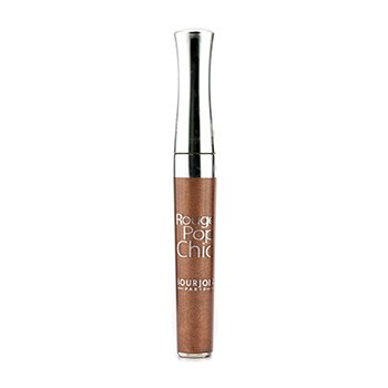 BourjoisRouge Pop Chic Lipgloss - # 07 Beige Choc 4.5ml/0.1oz