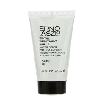 Erno Laszlo Tinted Treatment SPF15 (Sheer Color with Sunscreen) - # 956 Dark 45ml/1.5oz