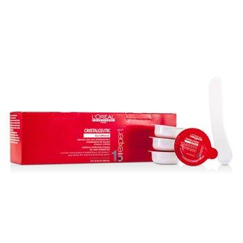 L'Oreal M�scara Capilar Professionnel Expert Serie - Cristalceutic Radiance-Protecting Masque (Para Cabelos Tingidos)  15x15ml/0.6oz