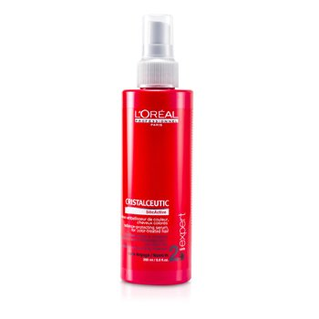 L'Oreal M�scara Capilar Professionnel Expert Serie - Cristalceutic Radiance-Protecting Serum (Para Cabelos Tingidos)  200ml/8oz