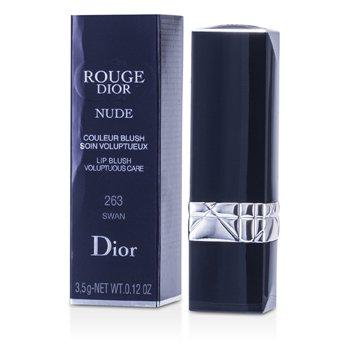 Christian Dior Rouge Dior Nude Lip Blush Voluptuous Care Lipcolor - No. 263 Swan  3.5g/0.12oz