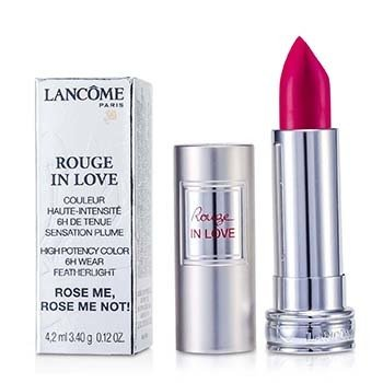 Lancome Rouge In Love Lipstick - # 375N Rose Me Rose Me Not! 4.2ml/0.12oz