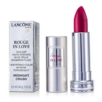 Lancome 4.2ml/0.12oz Rouge In Love Lipstick - # 383N Midnight Crush 4.2ml/0.12oz