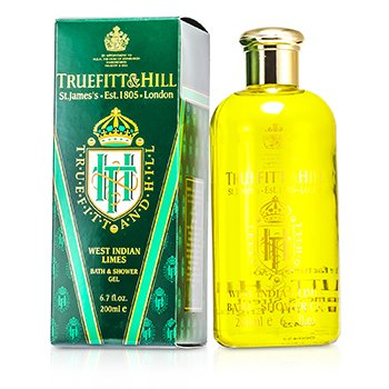 Truefitt & Hill West Indian Limes Gel de Ba�o y Ducha  200ml/6.7oz