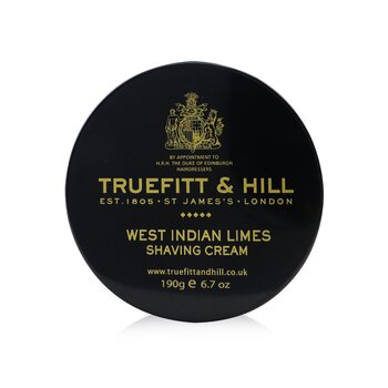 Truefitt & Hill West Indian Limes Crema de Afeitar  190g/6.7oz