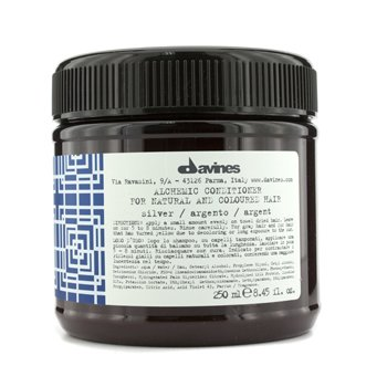 DavinesAlchemic Conditioner Silver (For Natural & Gray Hair) 250ml/8.45oz