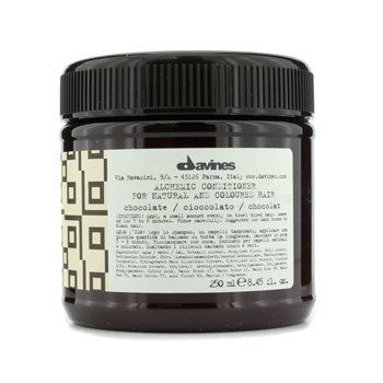 DavinesAlchemic Conditioner Chocolate (For Natural & Dark Brown to Black Hair) 250ml/8.45oz