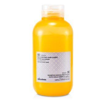 DavinesSU Wash Replenishing Hair & Body After Sun Wash 250ml/8.45oz
