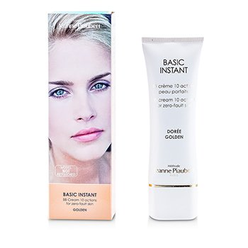 Methode Jeanne PiaubertBasic Instant BB Cream 10 Actions For Zero-Fault Skin (Golden) 40ml/1.33oz