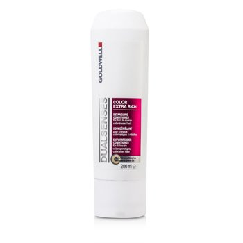 GoldwellDual Senses Color Extra Rich Detangling Conditioner (For Thick to Coarse Color-Treated Hair) 200ml/6.7oz