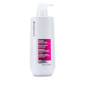 GoldwellDual Senses Color Extra Rich Fade Stop Shampoo (For Thick to Coarse Color-Treated Hair) 750ml/25.4oz
