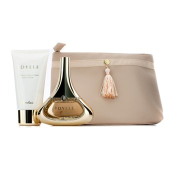 GuerlainIdylle Coffret: Eau De Pafrum Spray 50ml/1.7oz + Body Lotion 75ml/2.5oz + Bag 2pcs+1bag