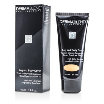 Dermablend Leg & Body Cover SPF 15 (Full Coverage & Long Wearability) - Golden 100ml/3.4oz