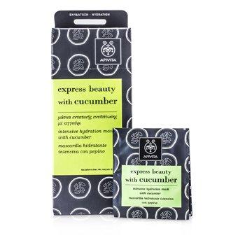 ApivitaExpress Beauty M�scara Hidratante Intensiva con Pepino 6x(2x8ml)