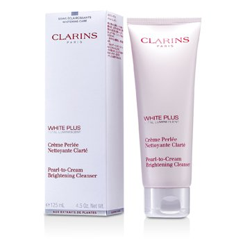 ClarinsWhite Plus Total Luminescent Pearl-To-Cream Brightening Cleanser 125ml/4.5oz