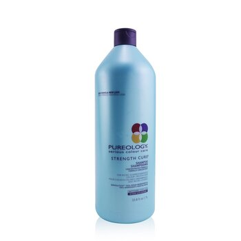 PureologyStrength Cure Shampoo (For Micro-Scarred/Damaged Colour-Treated Hair) 1000ml/33.8oz