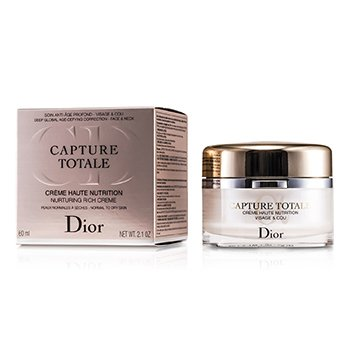 Christian DiorCapture Totale Haute Nutrition Nurturing Rich Creme (Normal to Dry Skin) 60ml/2.1oz