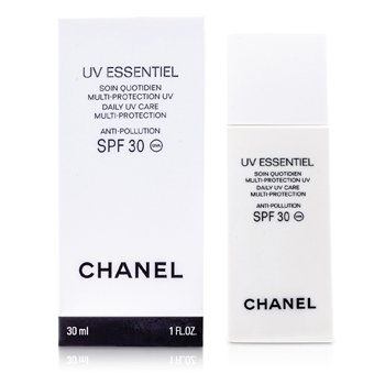 Chanel UV Essentiel Daily UV Care Multi-Protection Anti-Pollution SPF 30 30ml/1oz at StrawberryNET.com - Skincare-Makeup-Cosmetics-Fragrance