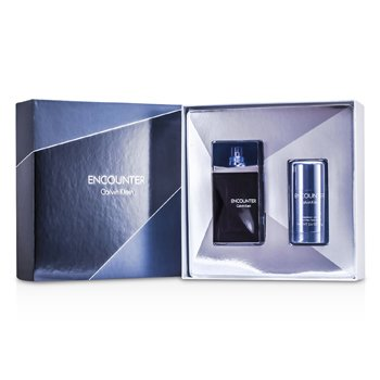 Calvin KleinEncounter Coffret: Eau De Toilette Spray 100ml/3.4oz + Deodorant Stick 75g/2.6oz 2pcs