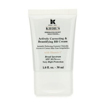Kiehl'sActively Correcting & Beautifying BB Cream SPF 50 PA+++ (Fair) 30ml/1oz