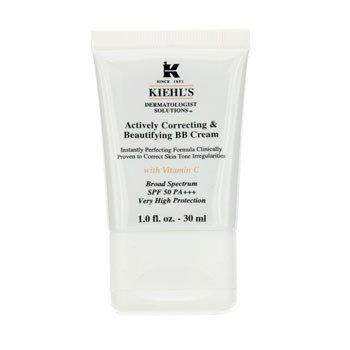Kiehl's Actively Correcting & Beautifying BB Cream SPF 50 PA+++ (Fair) - Krim Wajah  30ml/1oz