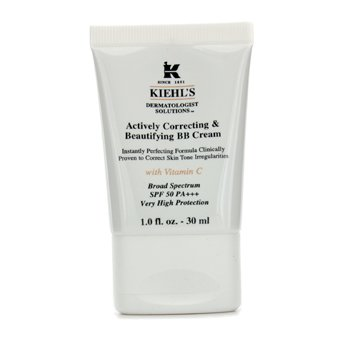 Kiehl'sActively Correcting & Beautifying BB Cream SPF 50 PA+++ (Light) 30ml/1oz