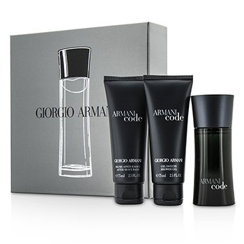 Giorgio ArmaniArmani Code Coffret: Eau De Toilette Spray 50ml/1.7oz + B�lsamo Despu�s de Afeitar 75ml/2.5oz + Gel de Ducha 75ml/2.5oz 3pcs