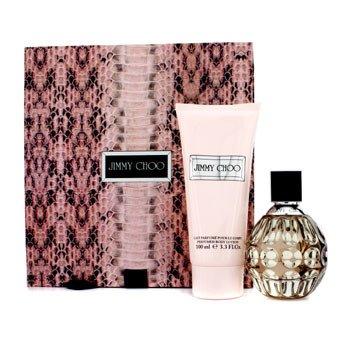 Jimmy Choo Jimmy Choo Coffret: Eau De Parfum Spray 60ml/2oz + Body Lotion 100ml/3.3oz 2pcs