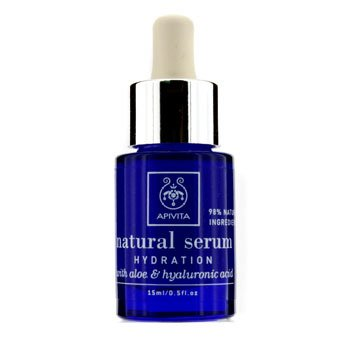 APIVITA Natural Serum - Hydration with Aloe & Hyaluronic Acid 15ml/0.5oz