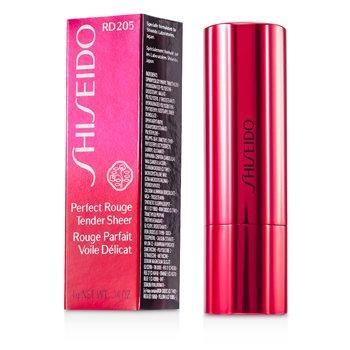 Shiseido Perfect Rouge Tender Sheer - # RD205 Flora  4g/0.14oz