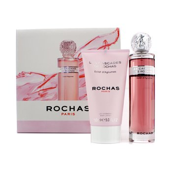 RochasEclat D'Agrumes Coffret: Eau De Toilette Spray 100ml/3.3oz + Loci�n Corporal 150ml/5oz 2pcs