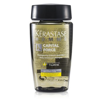KerastaseHomme Capital Force Daily Treatment Shampoo (Vita-Energising Effect) 250ml/8.5oz