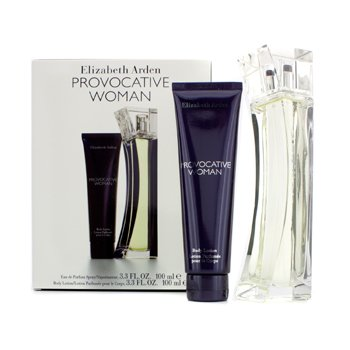 Elizabeth ArdenProvocative Woman Coffret: Eau De Parfum Spray 100ml/3.3oz + Loci�n Corporal 100ml/3.3oz 2pcs
