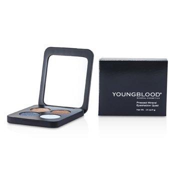 Купить Прессованные Минеральные Тени для Век 4 Оттенка - Glamour Eyes 4g/0.14oz, Youngblood