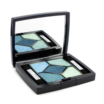 Color Ojos5 Couleurs Couture Colour Paleta de Sombras de Ojos - No. 374 Blue Lagoon 6g/0.21oz