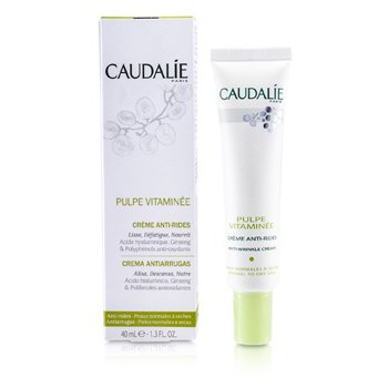 Caudalie Pulpe Vitaminee Anti-Wrinkle Cream (For Normal to Dry Skin) 40ml/1.3oz