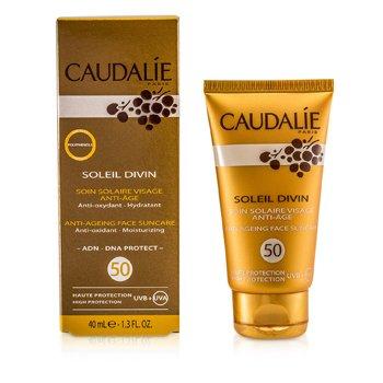 Caudalie Soleil Divin Anti-Ageing Face Suncare SPF 50 High Protection 40ml/1.3oz