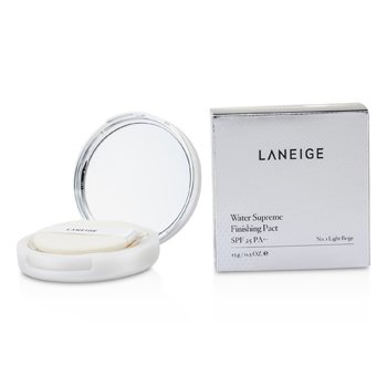 Laneige Water Supreme Finishing Pact SPF25 - # No. 1 Light Beige 15g/0.5oz