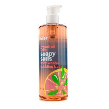 BlissGrapefruit + Aloe Soapy Suds 473ml/16oz