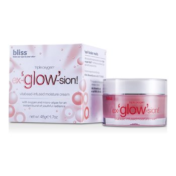 BlissTriple Oxygen Ex-glow-sion Vitabead-Infused Moisture Cream 48g/1.7oz