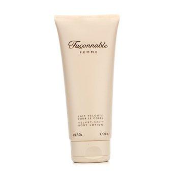 Faconnable Femme Velvet Soft Body Lotion  200ml/6.66oz