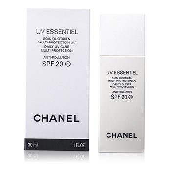 Chanel UV Essentiel Daily UV Care Multi-Protection Anti-Pollution SPF 20 30ml/1oz at StrawberryNET.com - Skincare-Makeup-Cosmetics-Fragrance